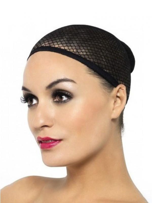 Simply Black Mesh-Like Wig Cap