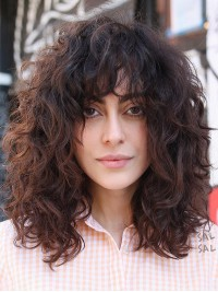 Long Curly Capless Wigs