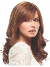 Long Wavy Lace Front Remy Human Hair Wigs 18 Inches