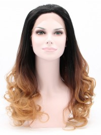 """30"""" Curly Ombre  Lace Front Synthetic Wigs"""