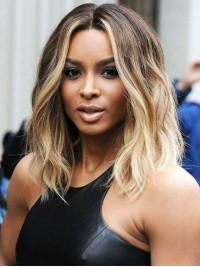 Medium Wavy Lace Front Wig