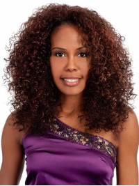 Afro-Hair Long Curly Lace Front Wig