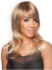 Straight Long Blonde Lace Front Wig
