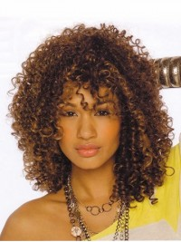 Afro-Hair Long Curly Wig