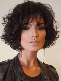 Wavy Short Bob Synthetic Capless Wigs