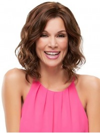 Wavy Lace Front Synthetic Medium Wig