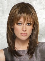 Long Straight Capless Synthetic Wig