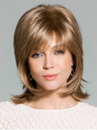 Blonde Straight Short Capless Synthetic Wig