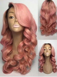 Two Tones Human Hair Wig