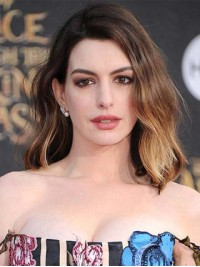 Anne Hathaway Ombre Human Wigs