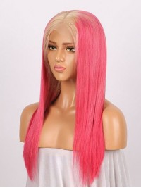 Straight Lace Two Tone Human Hair Wig
