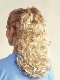 Water Wave Easy Attach Synthetic Ponytails For Ladies