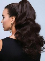 Big Volumn Body Wave Easy Attach Synthetic Hair Ponytail
