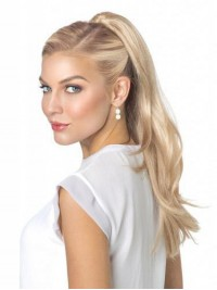 Water Wave Easy Attach Synthetic Ponytail For Ladies