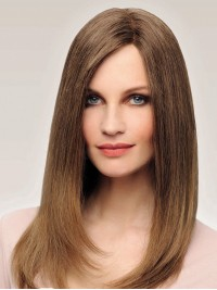 Straight Full Lace Long Remy Human Hair Wigs
