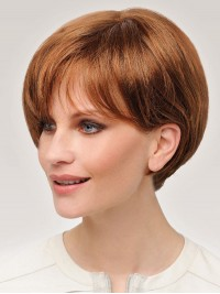 Short Straight Bob Synthetic Capless Wigs